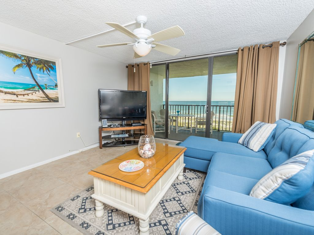 Oceanfront Penthouse Condo With Double Wide Balcony
