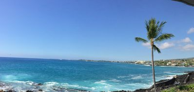 You can see all the way into Kailua Bay from the lanai.