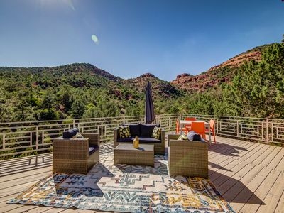 Photo for 3 BDRM, 2.5 Bath Home Has a View From Every Room! Sleeps 7