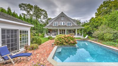 Photo for New Listing: Traditional Home w/ English Gardens, Pool, Rec Room, Close to Ocean Beaches