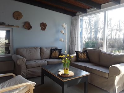 """Photo for Comfortable, cozy holiday home, within walking distance of the dunes and the sea!: """"So near the Sea"""""""