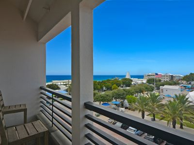 Photo for Located in the heart of Seaside and 30A, Balcony with town views, Stylish luxury
