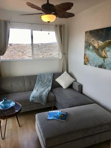 Cargo Container HomeOnTheLava~ Ocean & Volcano View Sleeps 4 ~ Julie's Sunrise