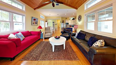 Photo for 979BB: Spacious Home, Short Walk to Boardwalk, Shared Pool Across the Street