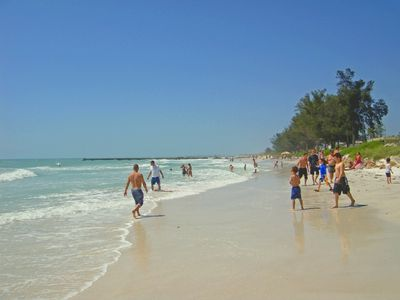 Endless white sand beaches and warm gulf waters