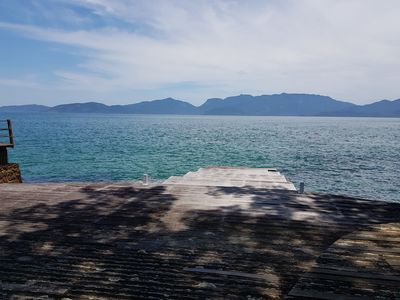 Photo for Angra dos Reis - House with deck on the sea