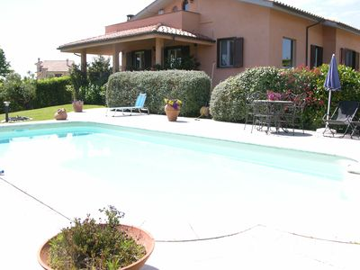 Photo for Bracciano Holiday with swimming pool