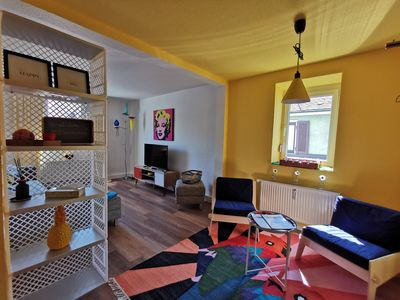 Photo for BACK TO THE 60s - Air-conditioned colorful apartment