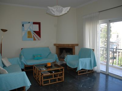 Photo for Athens flat near sea ,center and port