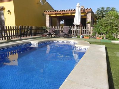 Photo for private pool, quiet location, barbecue lounge, table tennis table - Casa Ada -