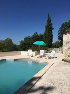 Photo for Panoramic Views & Private Pool - French tradition at its best