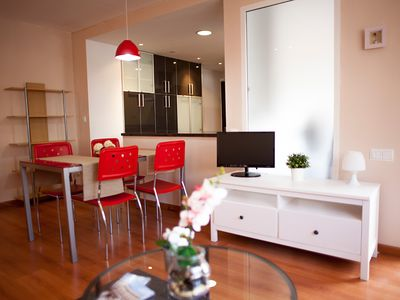 Photo for COZY AND BRIGHT APARTMENT NEAR THE CENTER AND CITY OF SCIENCES