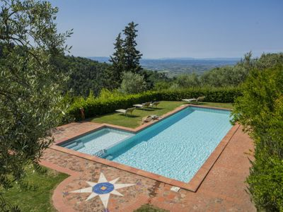 Photo for One bedroom Apartment, sleeps 3 in Rinecchi with Pool and WiFi