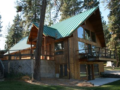 Photo for 4BR Cabin Vacation Rental in Big Arm, Montana