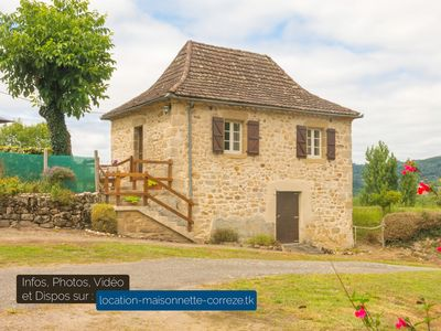 Photo for Maisonette in Corrèze | Wifi, TV, terrace and barbecue, private green spaces