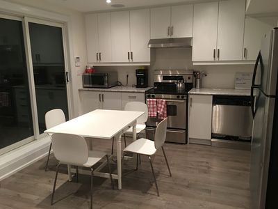 Photo for New Bsmt Suite. Laundry. Parking. Wifi. TV. Mid-town Toronto. 700m to Metro