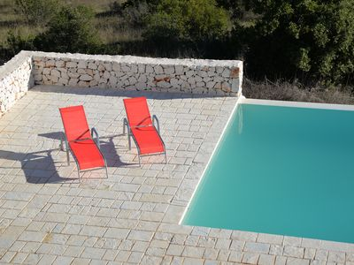 Photo for Beautiful boutique villa with infinity pool, stunning views & aircon near Ostuni