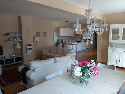 Photo for Recently renovated 300 sqm house, 35 minutes from Turin and 5 from the lake