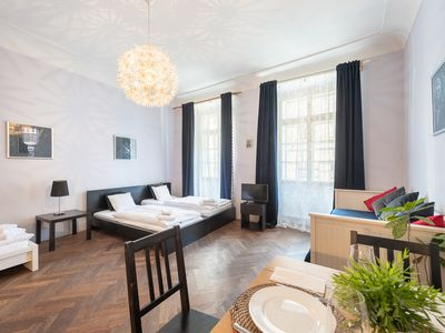 Photo for Historical Apartment 2 min walk from Charles Bridge