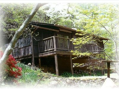 Photo for Secluded Mountain Cabin, Lakefront, Hiking, Fishing, Relaxing