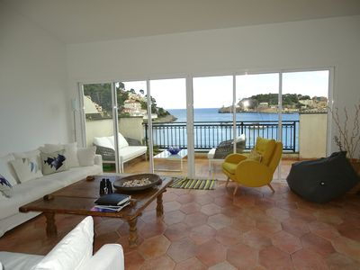 Photo for Fantastic apartment with unsurpassable sea views, just steps from the beach