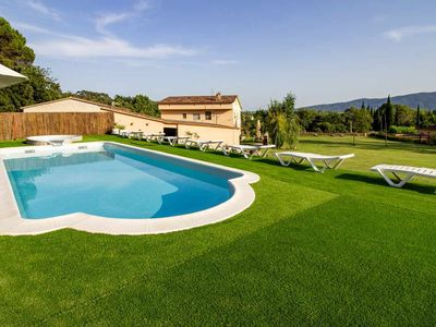 Photo for DORMESTANY holiday home - Swimming Pool. Garden 15.000 m2