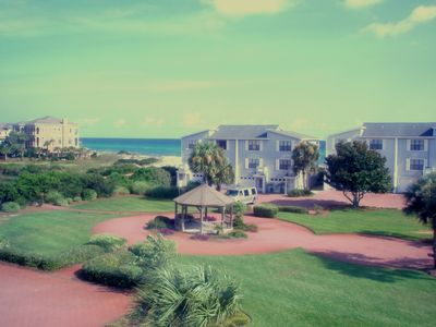 Photo for SUNNY SHORES:  Sweet Sun and Sand at 30A beachfront property - Sleeps 6 !