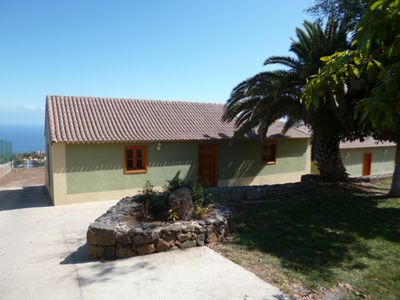 Photo for individual house overlooking the ocean and the Volcano EL TEIDE