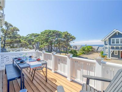 Photo for Oceanview Townhome Has Two Suites, Hot Tub and Easy Access to Bella Beach!