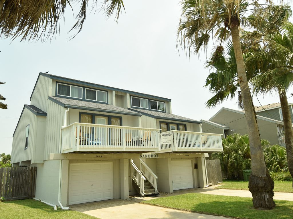 The Original Sandbox Beach House On South Padre Island