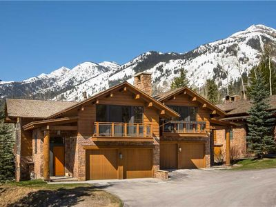 Photo for RMR: Teton Village in Granite Ridge : 3 BR townhouse Sleeps 8 + Free Fun!
