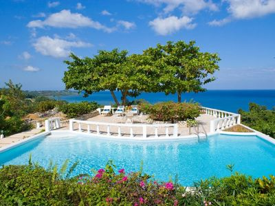 Photo for Luxury 5 Bedroom Fully Staffed Private Villa with Access to the Tryall Club