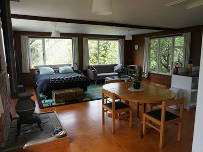 Photo for Peaceful, clean and cozy studio flat in Glenside/Tawa near Wellington City