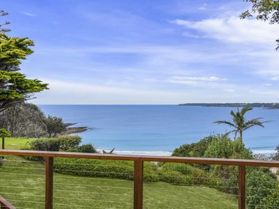Photo for Stunning ocean front view. 200m to beach, original beach house.