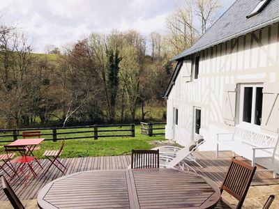 Photo for Beautiful renovated farmhouse - Honfleur (Genneville)
