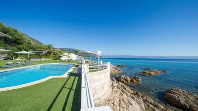 Photo for Sublime waterfront villa near the Sanguinaires Islands and Capo di fenu