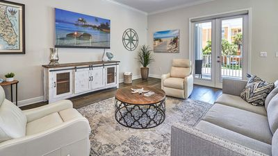 Photo for Luxurious coastal Key West townhome just steps from Redington Beach - beautiful outdoor living area and hot tub