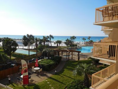 Photo for Gulf Front 2 Bed/2 Bath Condo Sleeps 6. Direct Private Beach Access, Unit 317