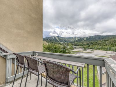 Photo for Top floor condo w/ views, shared pool/hot tub/sauna-ski nearby