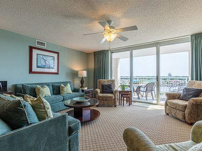 Photo for Yacht Club Luxury--BareFoot Golf and Resort w/ Marina Views & 3 Master Suites