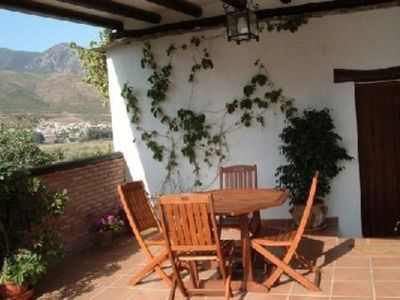 Photo for Appartment in rural farmhouse with a view to mountain.