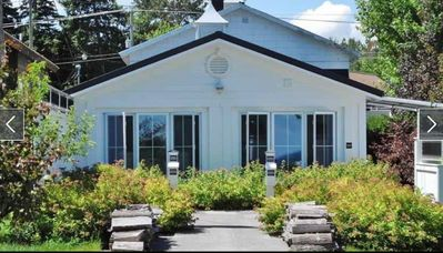 Front View of Carriage House facing the Bay!