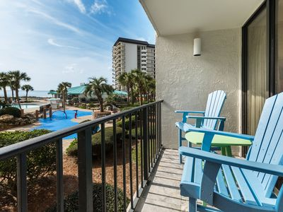 Photo for New Listing! Beautiful condo w/ sunset ocean views! Free WiFi & parking!
