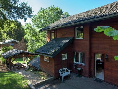 Photo for Modern Chalet in Sougné-Remouchamps near Forest