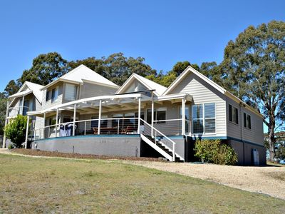 Photo for Family Friendly Weatherboard House in a Quiet Location, complete with water views.