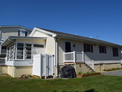 Photo for PET FRIENDLY WATER FRONT BEACH HOME 3BR SLEEPS 8 IN TOWN FENWICK ISLAND