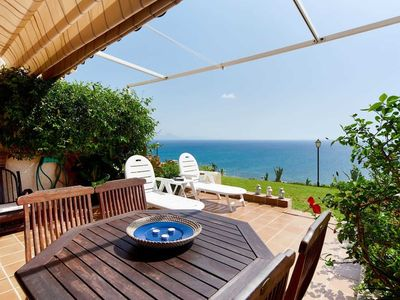 Photo for HOUSE OF SUN AND SEA / AMAZING VIEW OF 180º OVER THE SEA