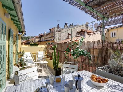 Photo for SUBLIME DUPLEX-TERRACE RENOVATED, 3 CH, 6 PERS, AIR CONDITIONING, WIFI