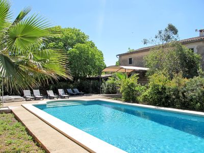 Photo for This 4-bedroom villa for up to 8 guests is located in Establiments and has a private swimming pool a