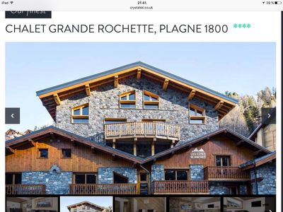 Photo for Private chalet La Plagne 1800